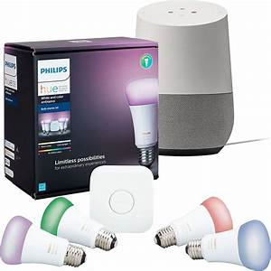 Hue Starter Kit : philips hue starter kit with google home for shipped ~ Orissabook.com Haus und Dekorationen