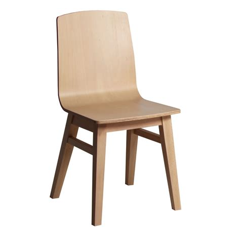Chaise Moderne En Bois Massif  Brin D'ouest