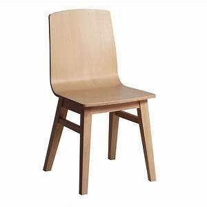 Chaise En Bois : chaise moderne en bois massif brin d 39 ouest ~ Melissatoandfro.com Idées de Décoration