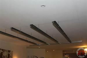 Installer Spot Plafond Existant : brico cr ation d un faux plafond avec ruban led et spots ~ Dailycaller-alerts.com Idées de Décoration