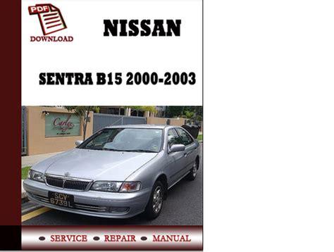 nissan sentra 2000 free download pdf repair service manual pdf downloads by tradebit com de es it