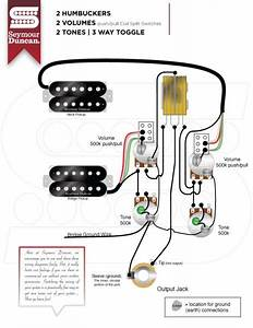 Lp Wiring Diagram   50s Wiring   Coil Split Using Spst