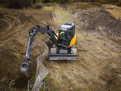 mecalac mwr compact  innovative wheel excavator