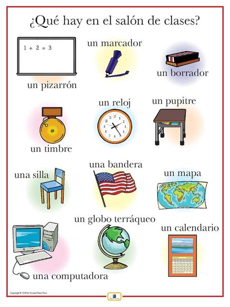78 best images about classroom objects los objetos dentro