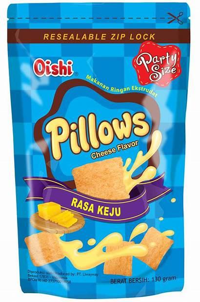 Pillows Cheese Oishi Pillow Snacks 150g Flavour