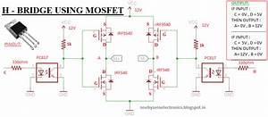 How To Make Simple H-bridge From Mosfet