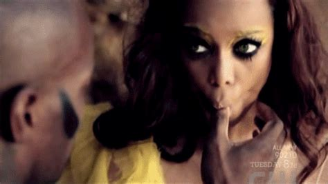 Tyra Banks. In All Her Batshitcrazy
