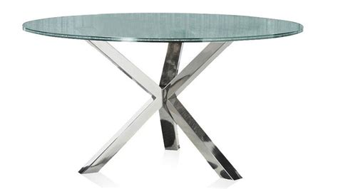 crackle glass table cointet 60 inch dining table crackle glass zuri 2978