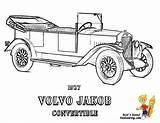 Coloring Muscle Volvo Printables Rod Convertible Printable Cars Jakob Macho 1927 Automobile Yescoloring Pdf Boys Gran Torino sketch template