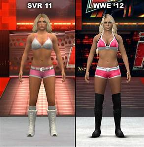 Smackdown Vs Raw 2011 And WWE 3912 Character Model Changes