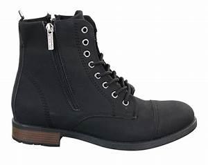 Bottines À Lacets Homme : bottines homme style chic d contract lacets zip militaire r tro vintage boots ebay ~ Melissatoandfro.com Idées de Décoration