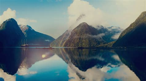 Cruise To Milford Sound New Zealand Australia And New