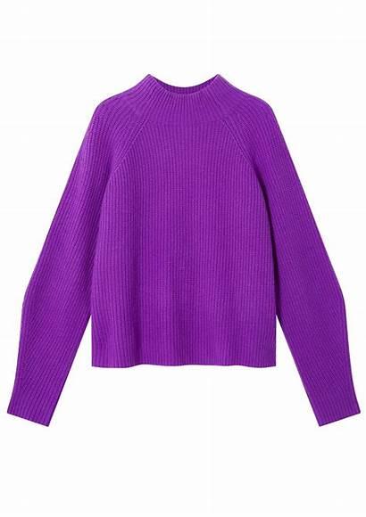 Jumper Purple Dark Cashmere Cocoa Erin