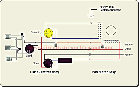 Wiring Diagram For Ceiling Fan With Light From One Switch