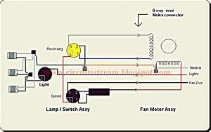 Best 3 Types Of Ceiling Fan Circuit Diagram
