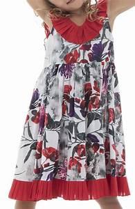 Robe Boheme Fille : robe style boh me bretelles pour enfant avec imprim coralie ~ Melissatoandfro.com Idées de Décoration