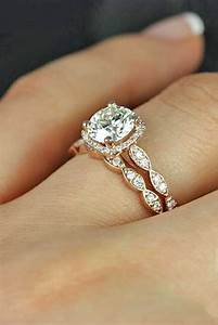 30 stunning engagement rings nobody can resist page 4 for Can an engagement ring be a wedding ring
