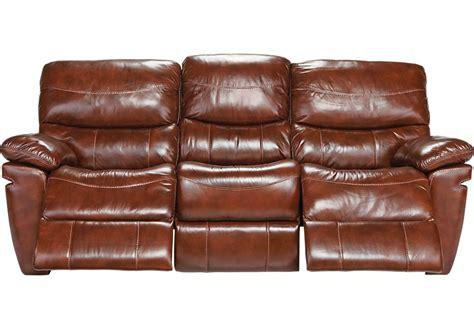 chestnut leather sofa la verona chestnut leather power sofa sofas brown 2156