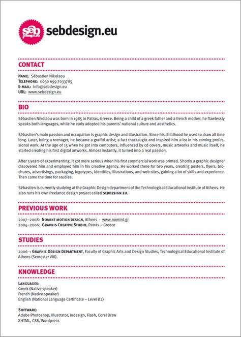 74 best images about creative resumes on cool
