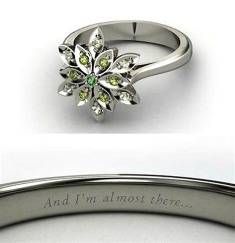 rings inspired by disney princesses incredible things