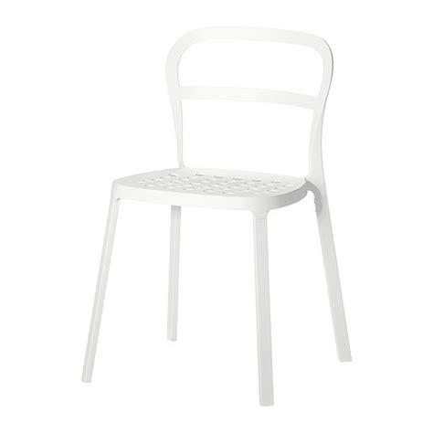 chaise exterieur ikea reidar chaise intérieur extérieur blanc ikea