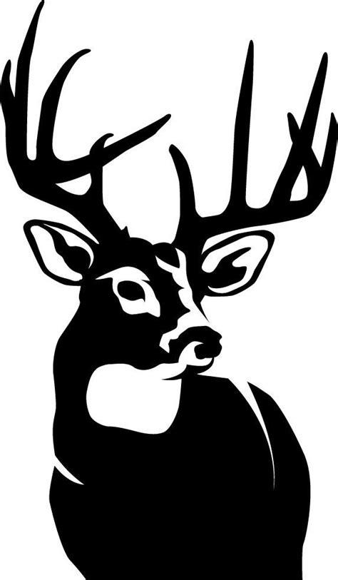 perfect  whitetail deer wall decal deer stencil deer