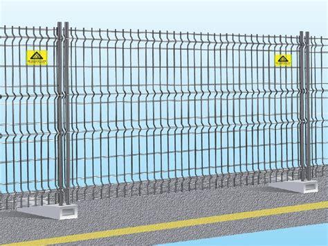 recinzioni mobili recinzione mobile da cantiere componibile easy fix by