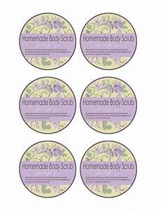 body scrub labels body scrubs pinterest With bath and body labels templates