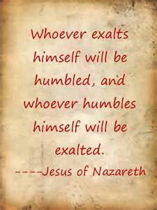 Jesus Quotes About Humility