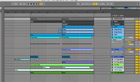 ableton trap templates trap ableton live 9 only template pml