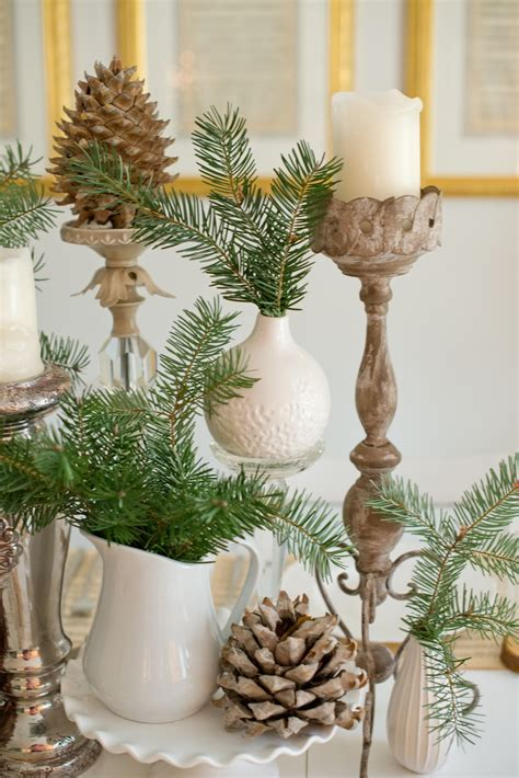 pine cone christmas table decorations domestic fashionista natural christmas tablescape