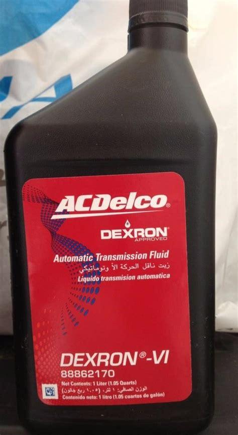 aceite dexron vi acdelco original transmision gm