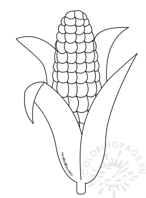 corn coloring pages printable coloring page