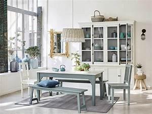 une salle a manger aux teintes douces joli place With salle À manger contemporaine avec style scandinave bleu