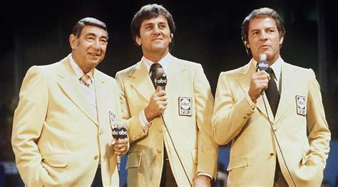 frank gifford  told howard cosell  shut   mnf