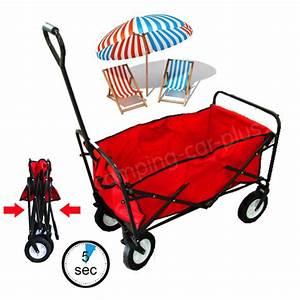 Chariot De Transport Pliable : chariot de plage pliable ~ Edinachiropracticcenter.com Idées de Décoration