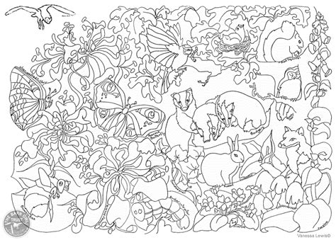 wildlife coloring pages bestofcoloringcom