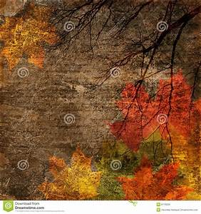 Autumn Vintage Background Stock Images - Image: 6176034