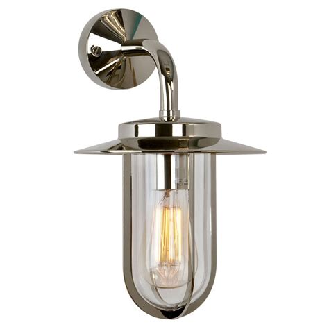 montparnasse wall lantern polished nickel lighting direct