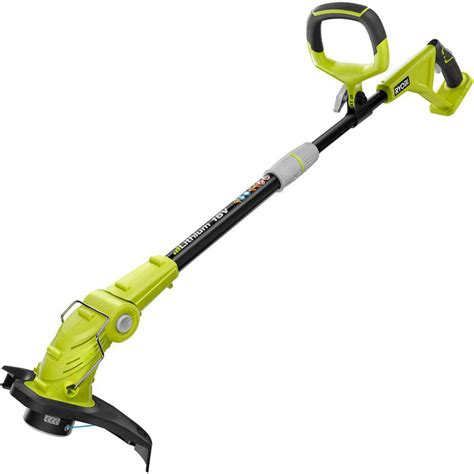 ryobi cordless string trimmer lawn edger grass cutter electric weed