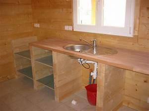 toutes les etapes de la construction d39une maison en bois With construire sa cuisine en bois