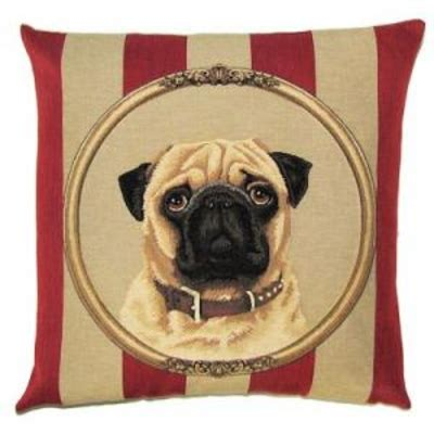 pug framed  wallpaper tapestry pillow covers tapestry