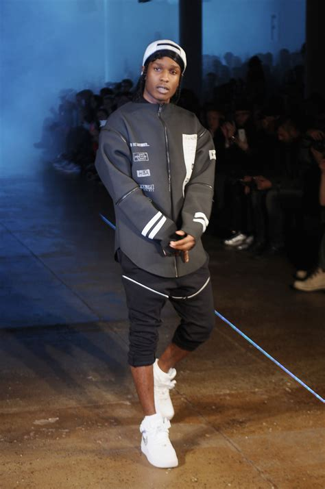 ASAP Rocky in Hood By Air - Runway - Fall 2013 MADE ...