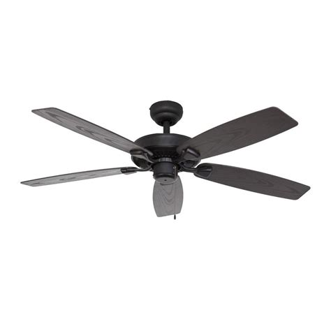 home depot ceiling fans outdoor fans bluff cove 52 in outdoor bronze ceiling fan