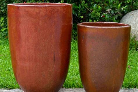 Large Clay Planters For Sale by Outdoor Garden Pottery Pottery Retail Bigearthsupply