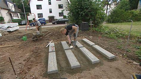 Zementmörtel Als Fundament by Gartenhausfundamente Mischungsverh 228 Ltnis Zement