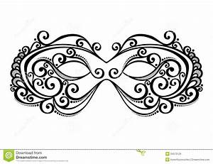 masquerade mask beautiful vector patterned design 34573129 With masquerade mask template for adults