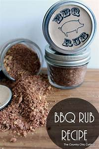 How To Make Jar Labels Father 39 S Day Gift In A Jar Bbq Rub Favesouthernrecipes Com