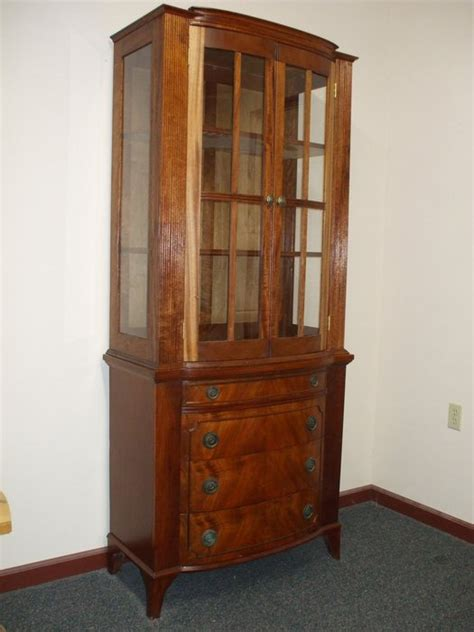 refinished china cabinet new fedral china cabinet on refinished buffet by rogue
