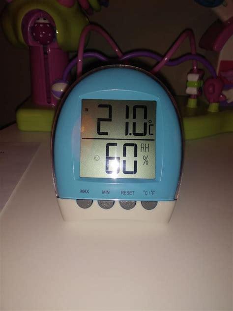 hygrométrie chambre bébé thermomètre bébé hygromètre d 39 intérieur lbs avis